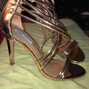 Steve Madden Shoes - Steve Madden Heels (Rose Gold Color)